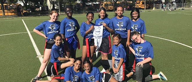 Our Lady of Fatima Wins Flag Football